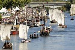 Festival de Loire - Bâteaux