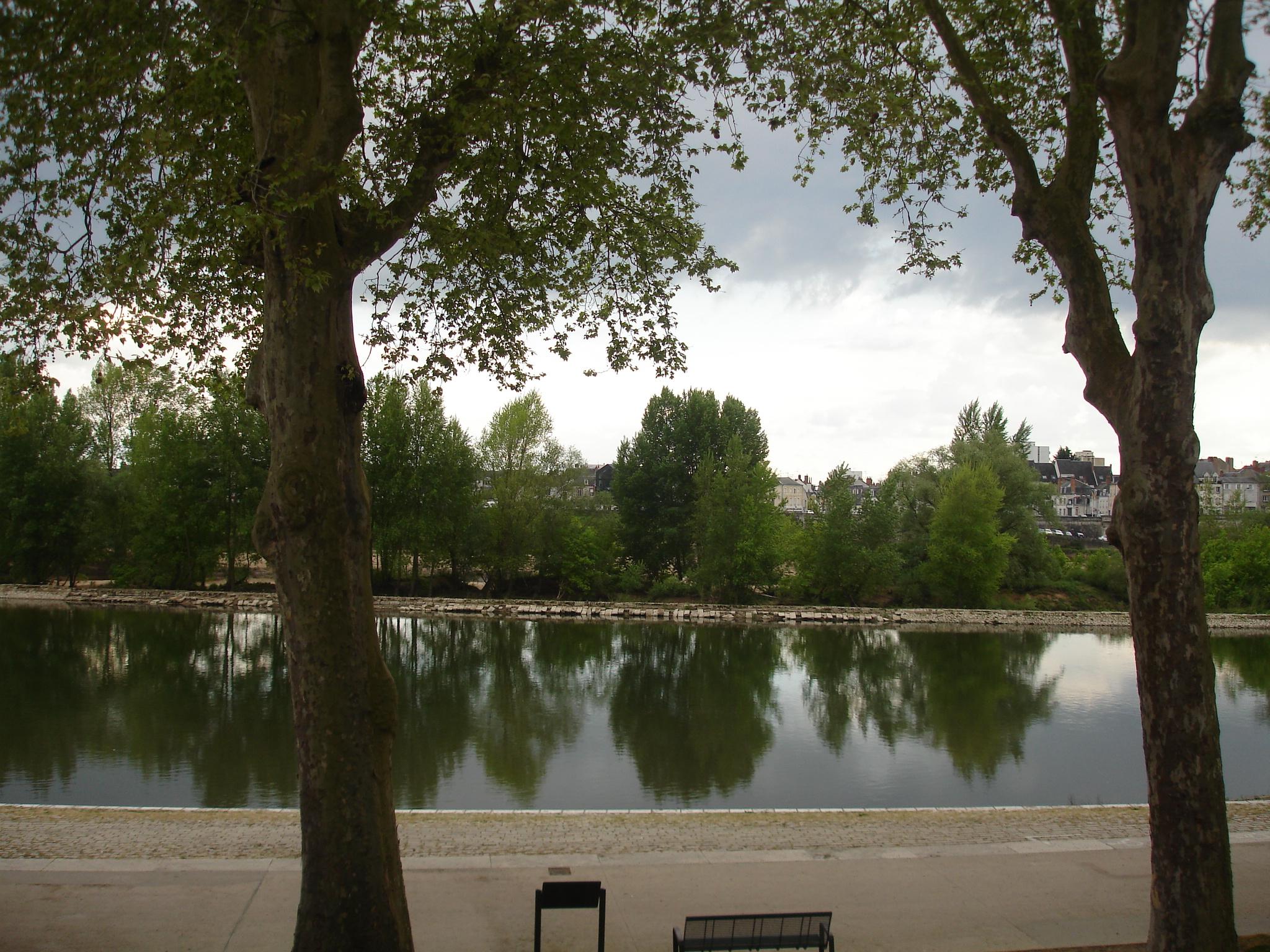 Vue directe sur la Loire