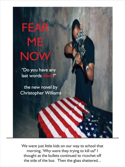 FEAR ME NOW Poster