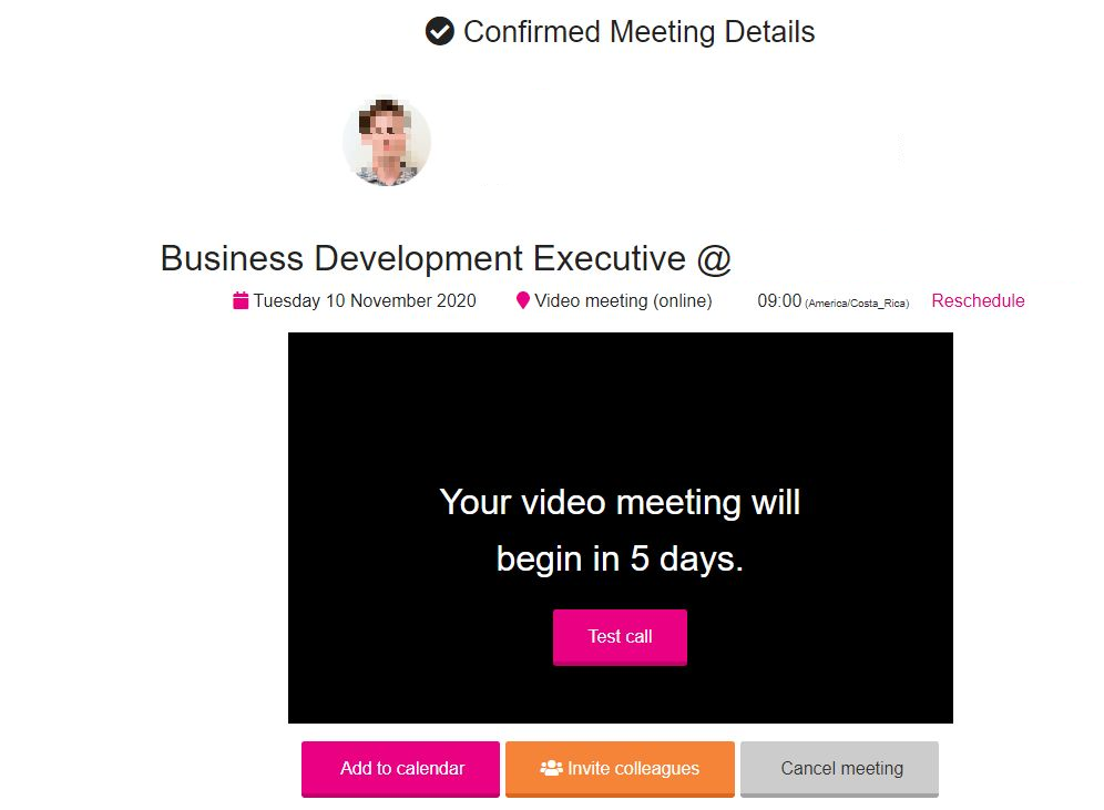 WTM online meeting platform