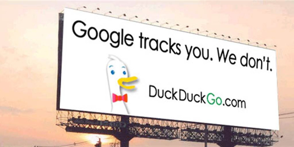 duckduckgo campaign against Google
