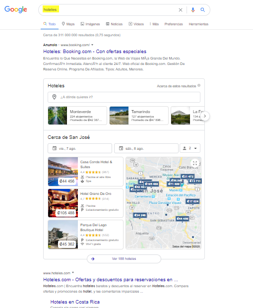 ¿Cómo conseguir que mi empresa de viaje aparezca en la primera página de Google?