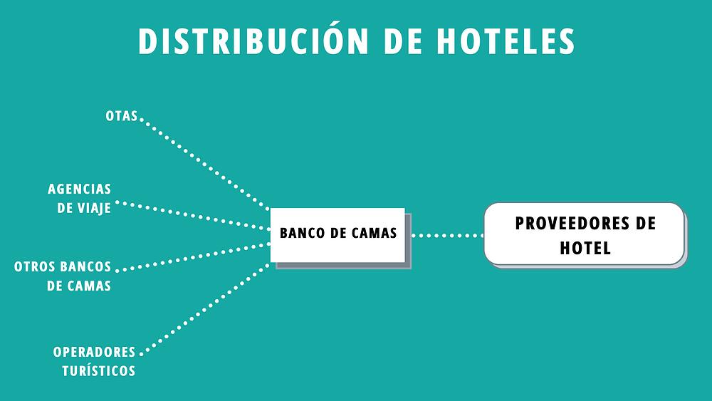 Distribución de hoteles