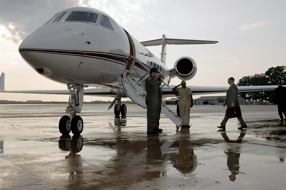 private jet travel trend
