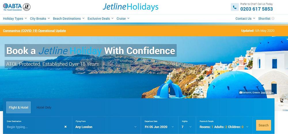Jetline Holidays