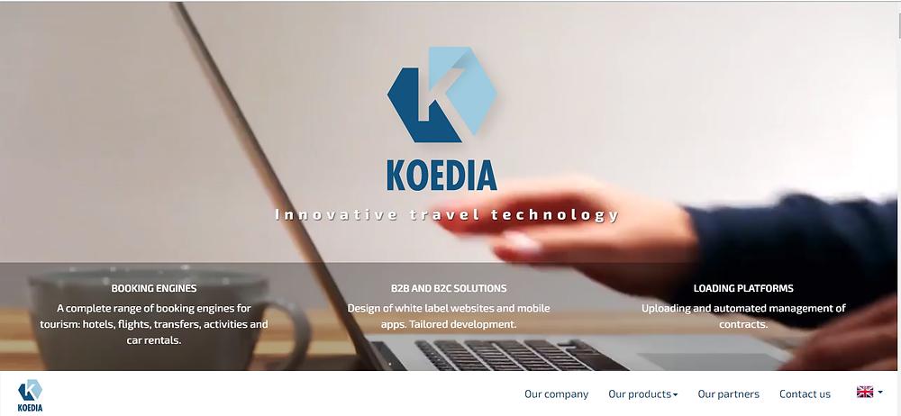 Koedia IT platform for Travel Agencies and OTAs