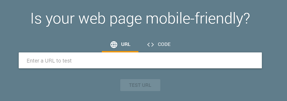 mobile friendly site search
