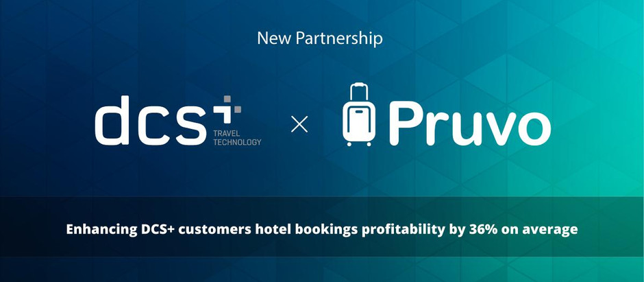 DCS Plus & Pruvo Partner to Provide Post Hotel Repricing Service for DCS Plus Customers