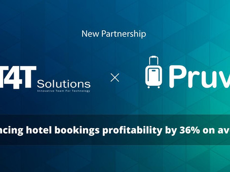 New Partnership between Pruvo and India-based Travel Tech Company IT4T Solutions