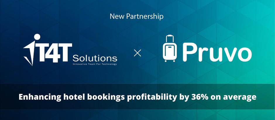 Nueva alianza entre Pruvo y IT4T Solutions , compañía de tecnología de viajes basada en India.