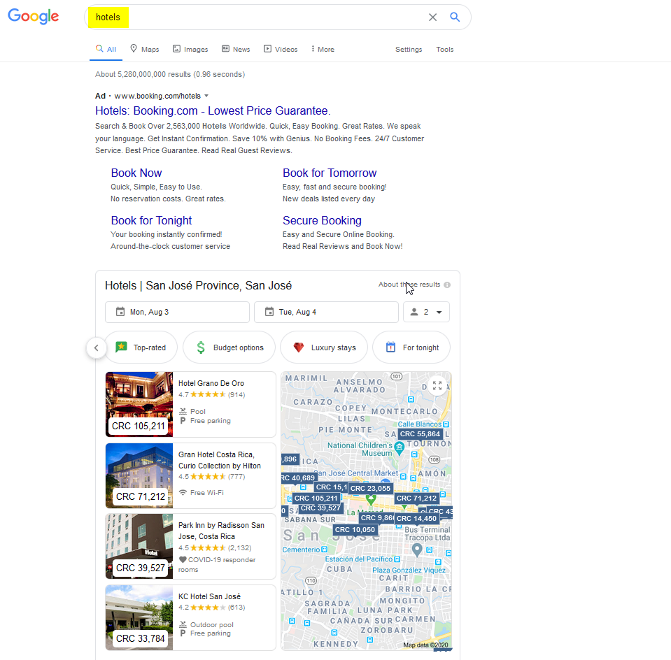 How Your Travel Company Can Appear on Google's First Page