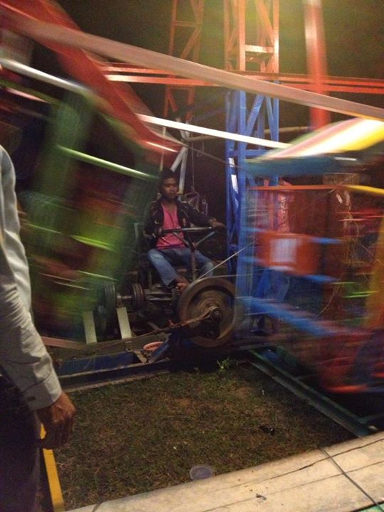 ferris wheel drive