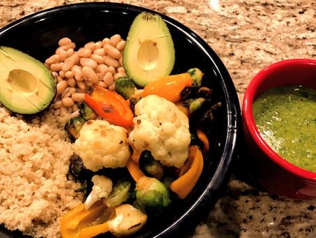 Quinoa Pesto Dinner Bowl