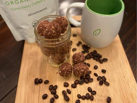 Coconut Coffee Bites