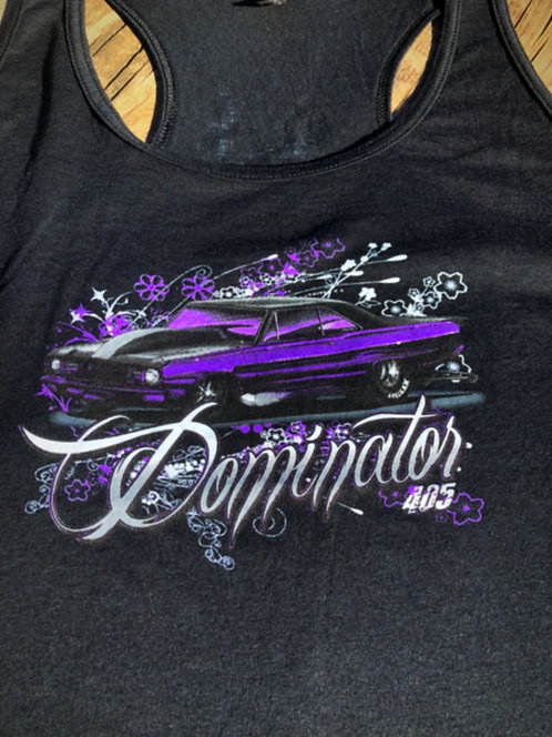 Dominator ladies Racer back Tank