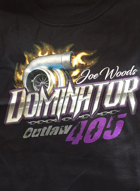 Dominator shirt on black
