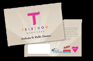 telethon sa movie card example