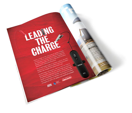 redarc magazine full page advert for AC Chargers