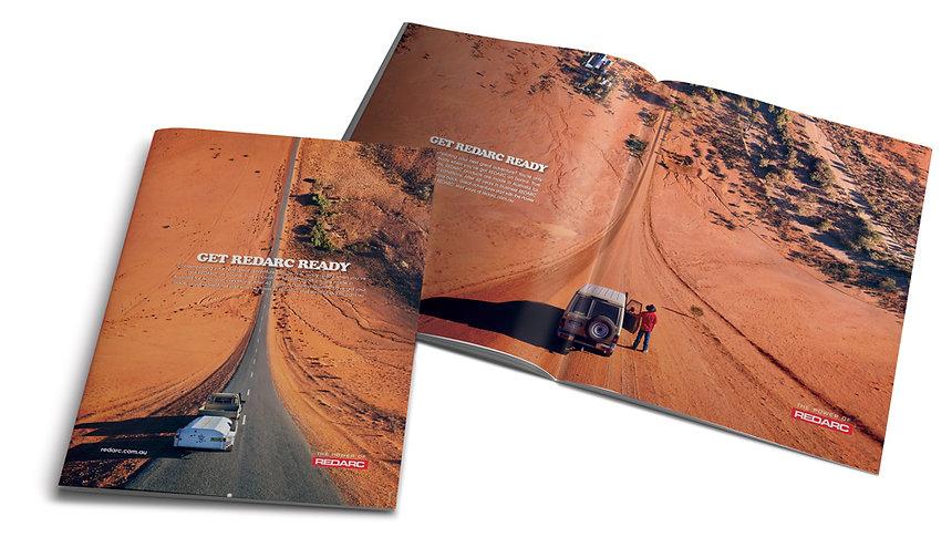 Redarc double page magazine advert