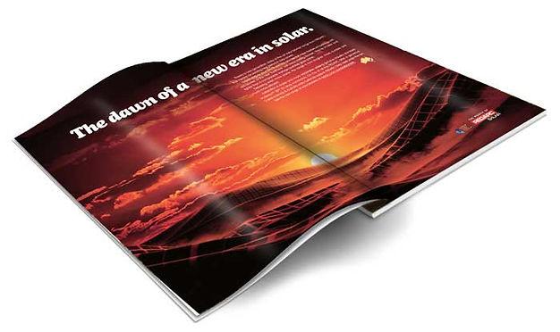 redarc magazine double page solar advert