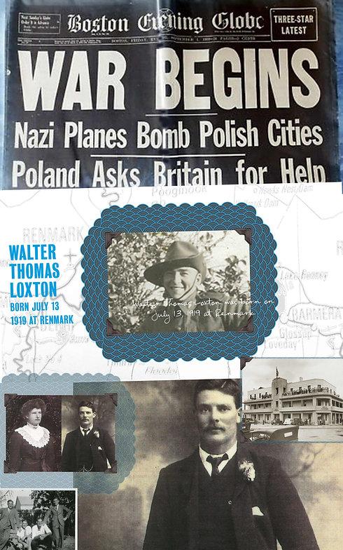 Historic photos of Walter Thomas Loxton