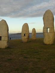 Manolo Paz's Menhirs A Coruña, Spain.jp