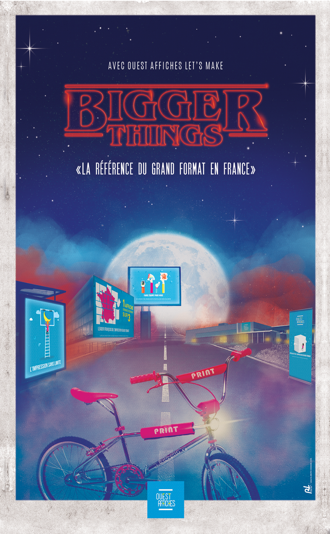 BIGGER THINGS  OUEST AFFICHE