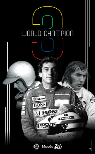 3 WORLD CHAMPION