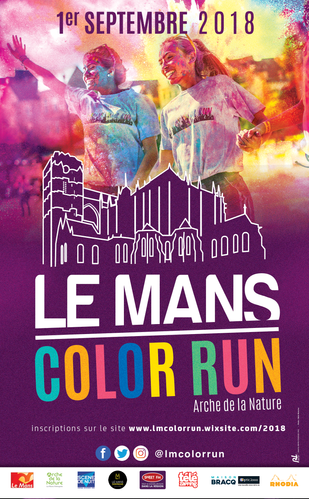 LE MANS COLOR RUN