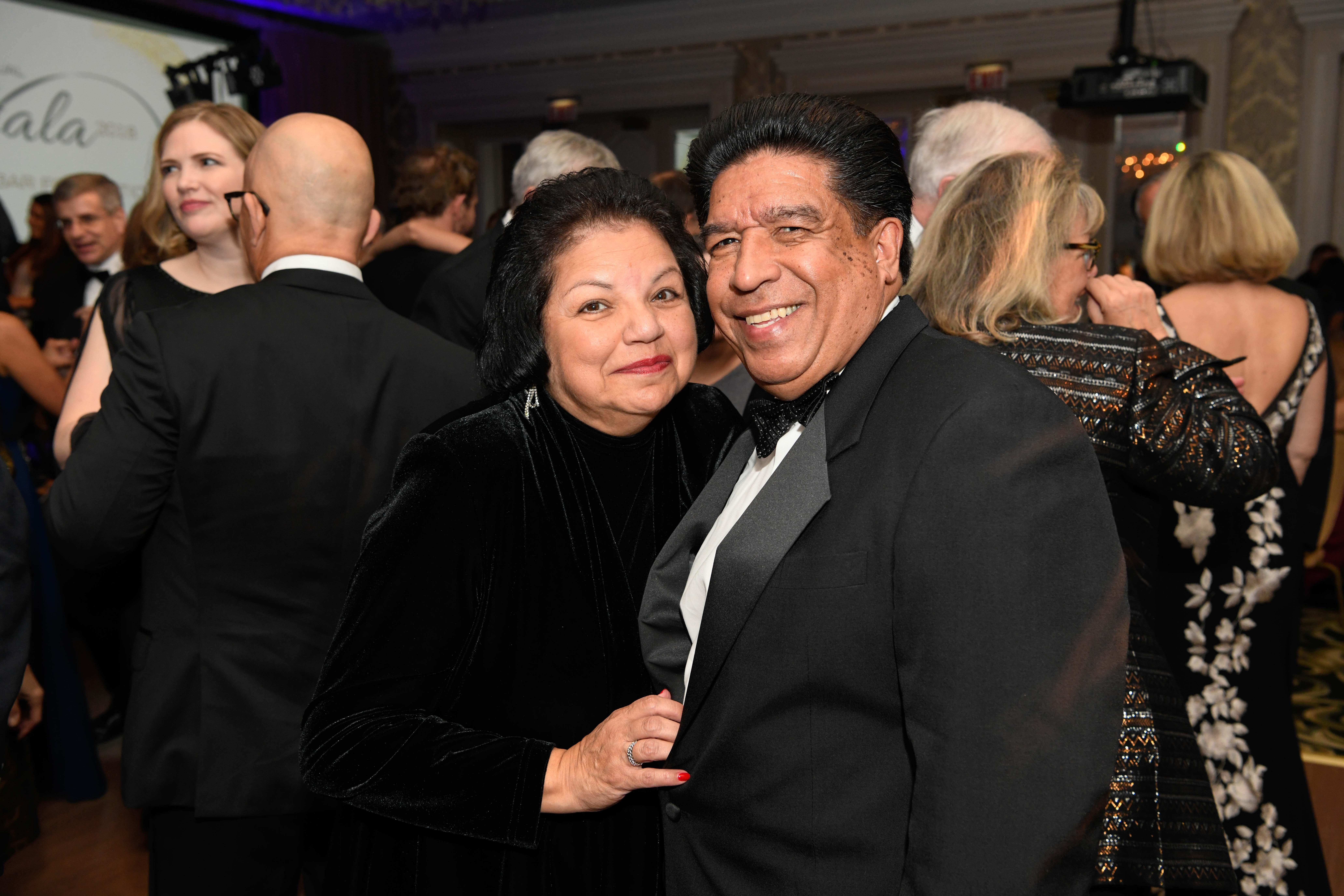 Justice Reyes +wife