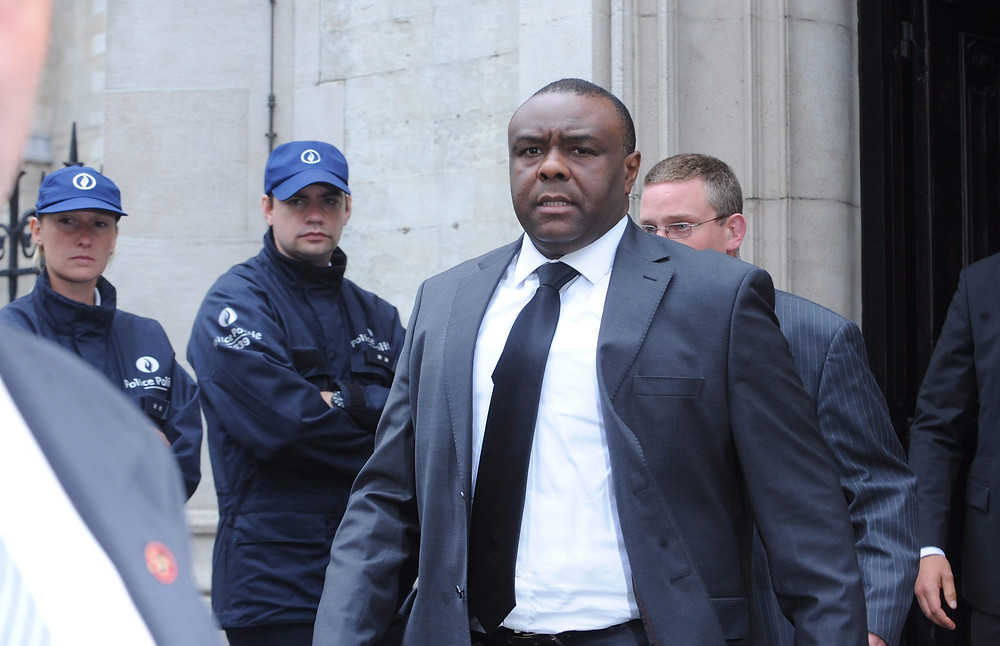 Bemba leaving court