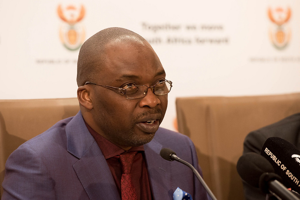 South African Minister of Justice and Correctional Services, Adv. Tshililo Michael Masutha