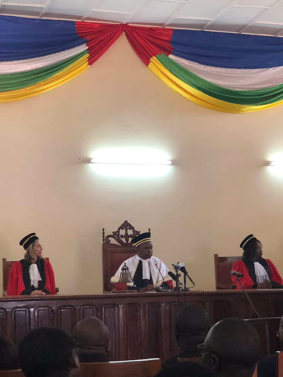About the new Special Criminal Court in the Central African Republic