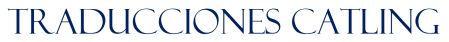 Logo de Traducciones Catling.