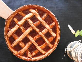 Crostata à l'abricot