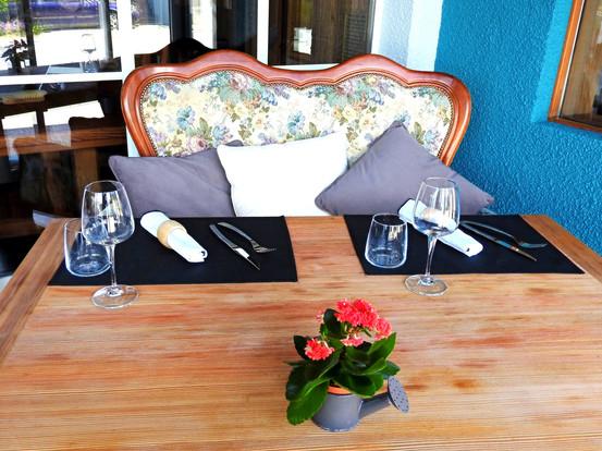 La table des amoureux