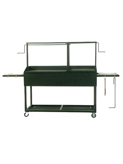 The Professional 60x24 Split Screen BBQ Model