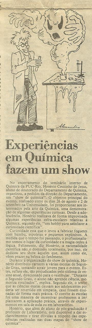 Jornal da PUC-Rio n° 44 de set-out-1992