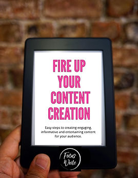 Fire up your content creation - Cover.jp