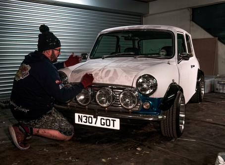 Classic Mini gets Popbang Colour treatment for 60th Birthday