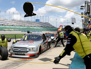 Grant Enfinger Ties Track-Best Third-Place Finish In e.p.t 200 at Kansas Speedway