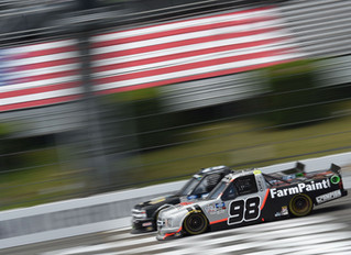 Grant Enfinger Finishes 11th at Pocono Raceway