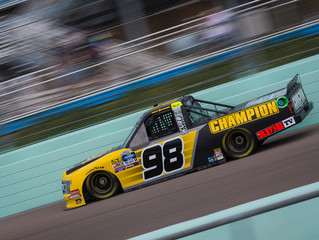 Top-10 Finish For Grant Enfinger In Season Finale at Homestead-Miami Speedway