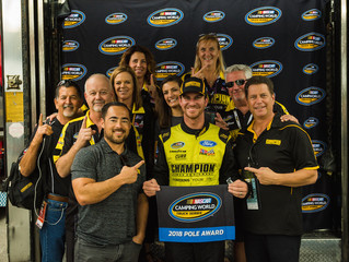 Grant Enfinger On The Pole At Homestead-Miami Speedway