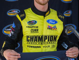Grant Enfinger On The Pole At Gateway Motorsports Park