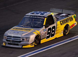 Grant Enfinger Finishes 12th At Charlotte - Remains Only Truck Series Regular To Win In 2020