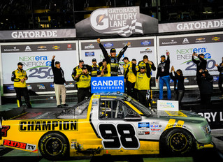 Grant Enfinger Wins 21st Annual NextEra Energy 250 At Daytona By 0.010 Seconds, Giving Ford Their 10