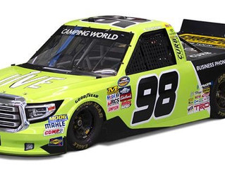 Grant Enfinger, No. 98 Jive Communications Toyota Tundra