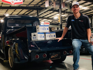 Alabama's Own Blue Spring Living Water Partners With Grant Enfinger and ThorSport Racing