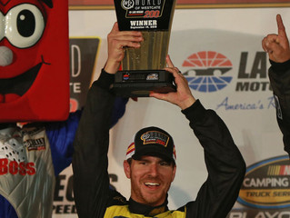 Grant Enfinger Wins at Las Vegas Motor Speedway